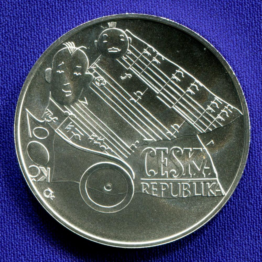 Чехия 200 крон 2006 UNC Ярослав Йежик  - 1