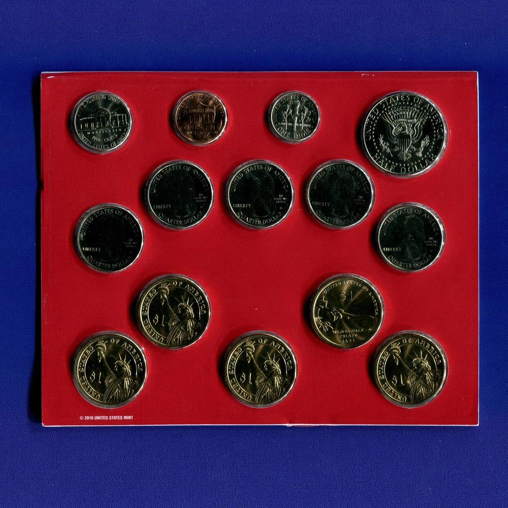 Набор монет США 2011 UNC - 1