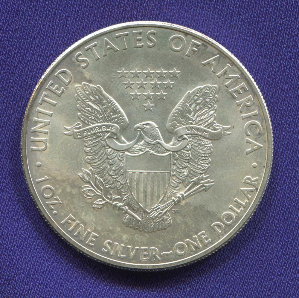 США 1 доллар 2015 UNC Шагающая свобода - 1