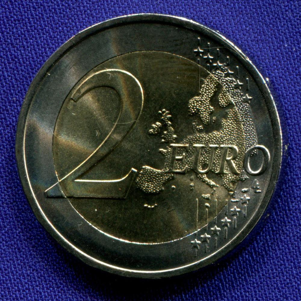 Португалия 2 евро 2019 UNC Кругосветное плавание Магеллана  - 1