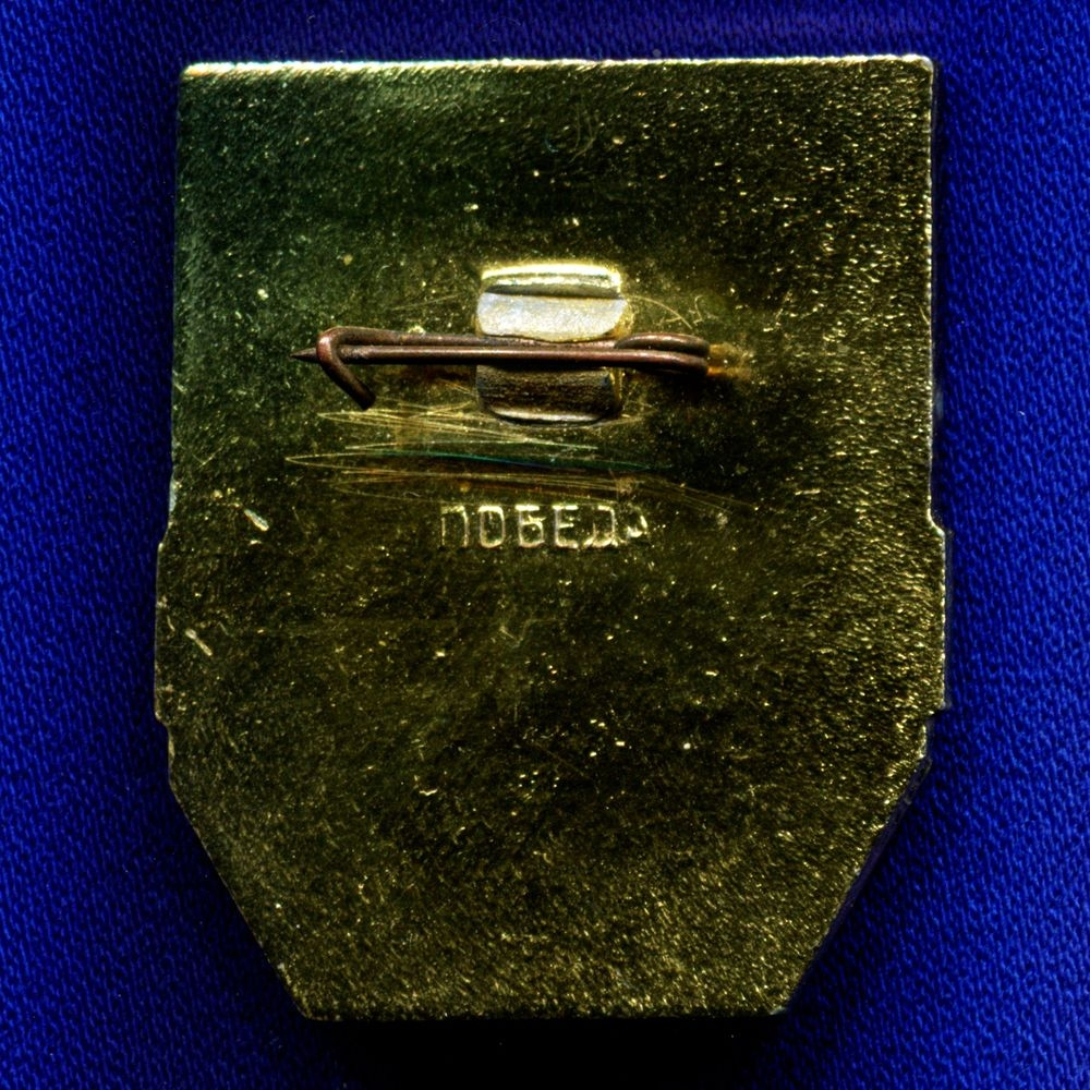 Значок «Дружинник» Алюминий Булавка - 1