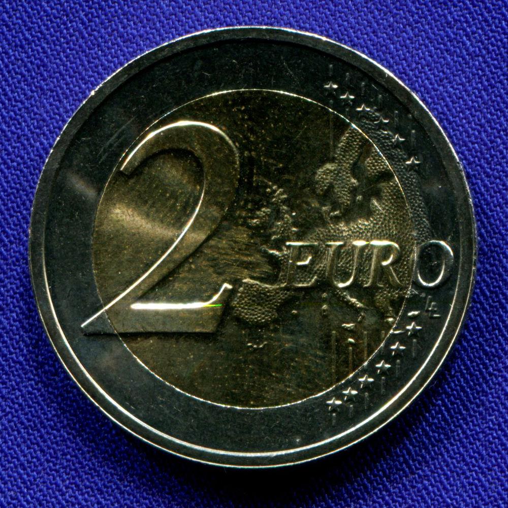 Люксембург 2 евро 2019 UNC Всеобщее избирательное право  - 1