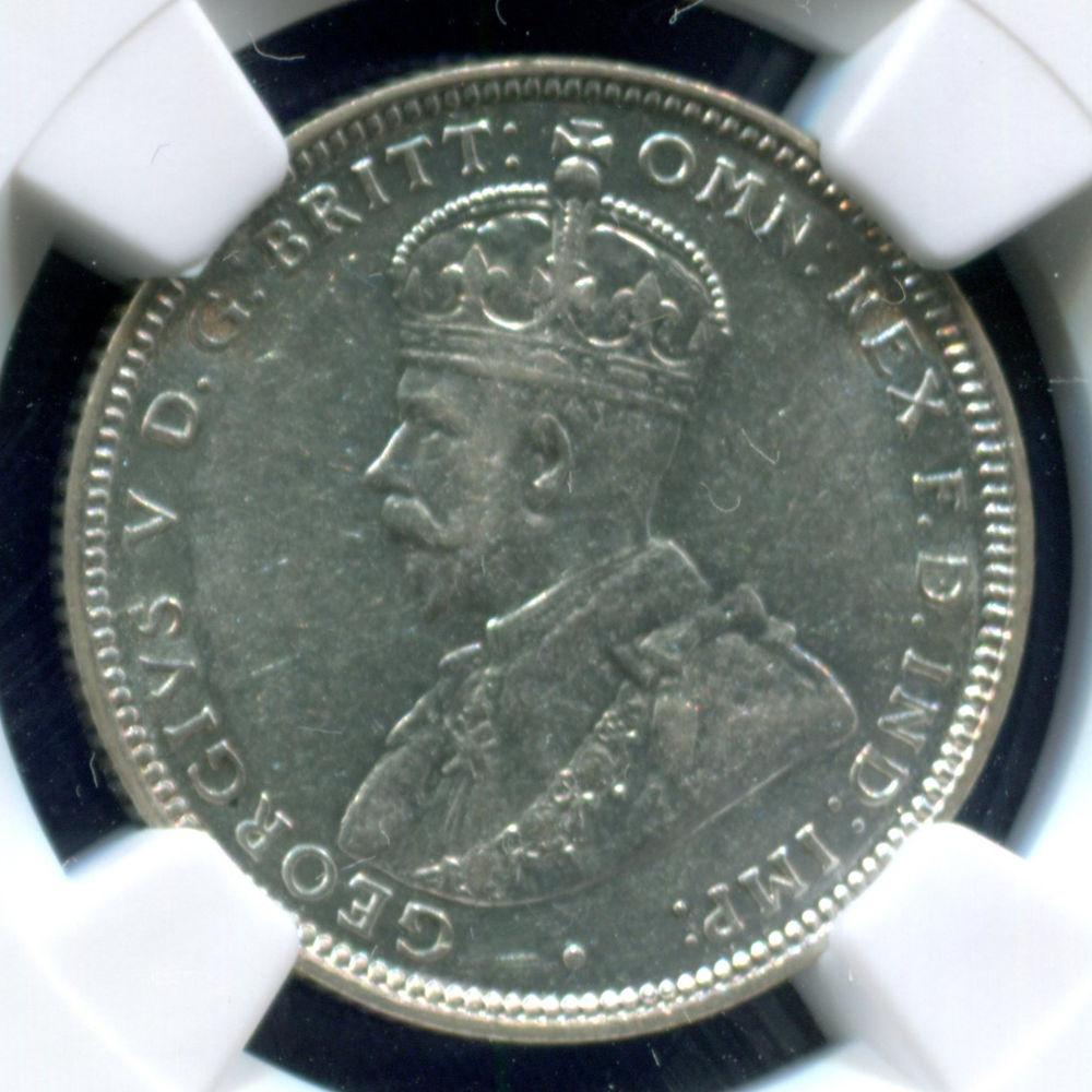 Австралия 1 шиллинг 1916 NGS AU55  - 2