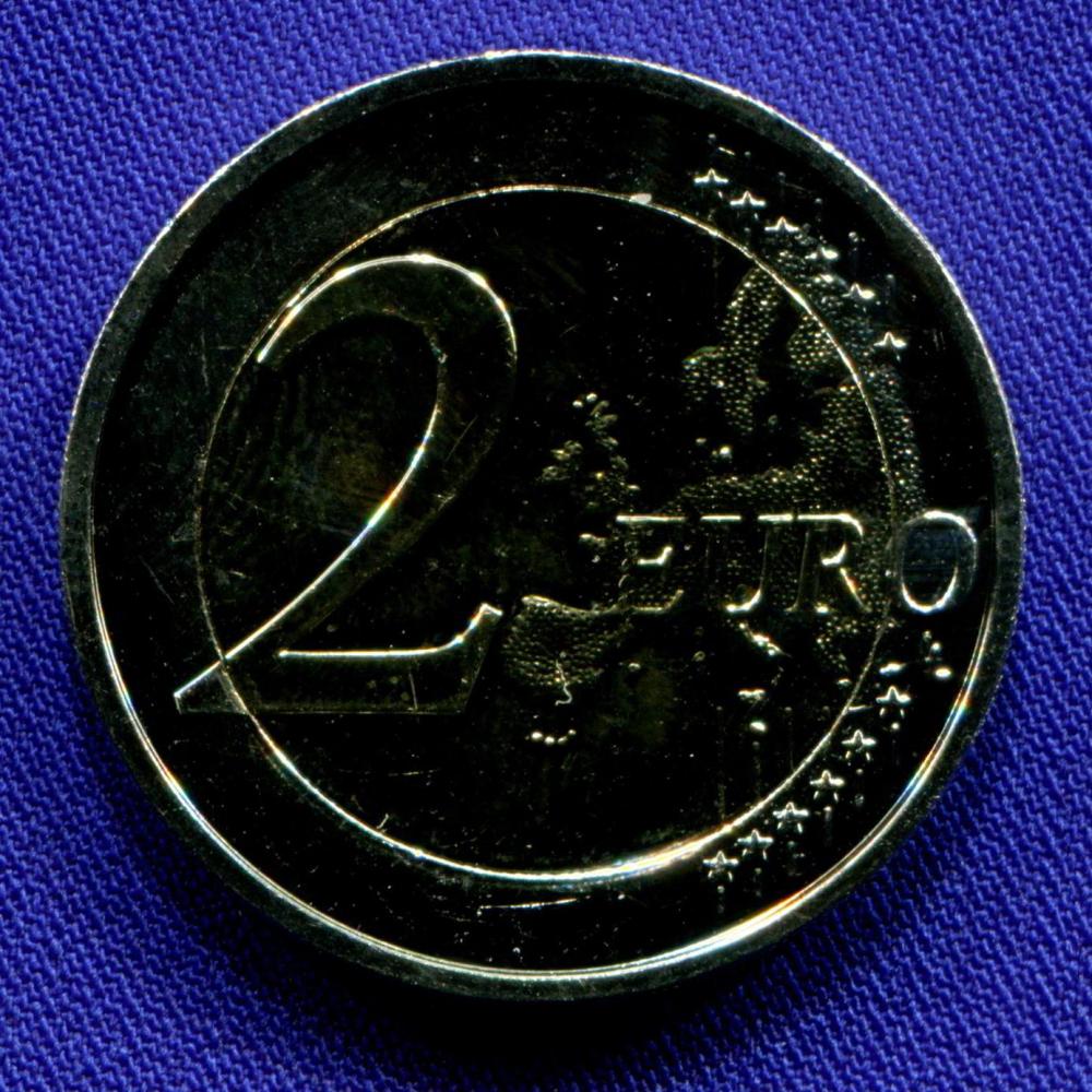 Латвия 2 евро 2017 UNC Историческая область Курземе  - 1