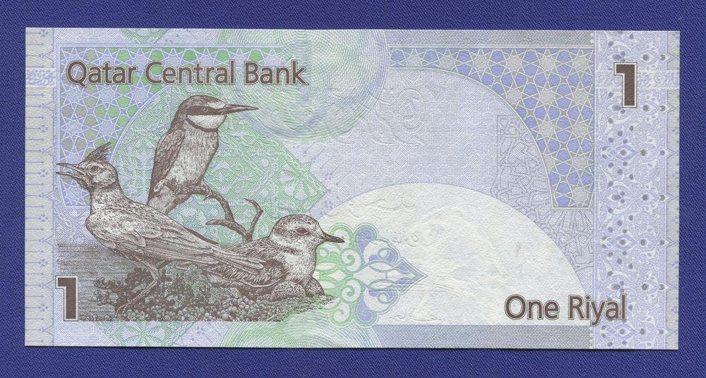 Катар 1 риал 2003 UNC - 1