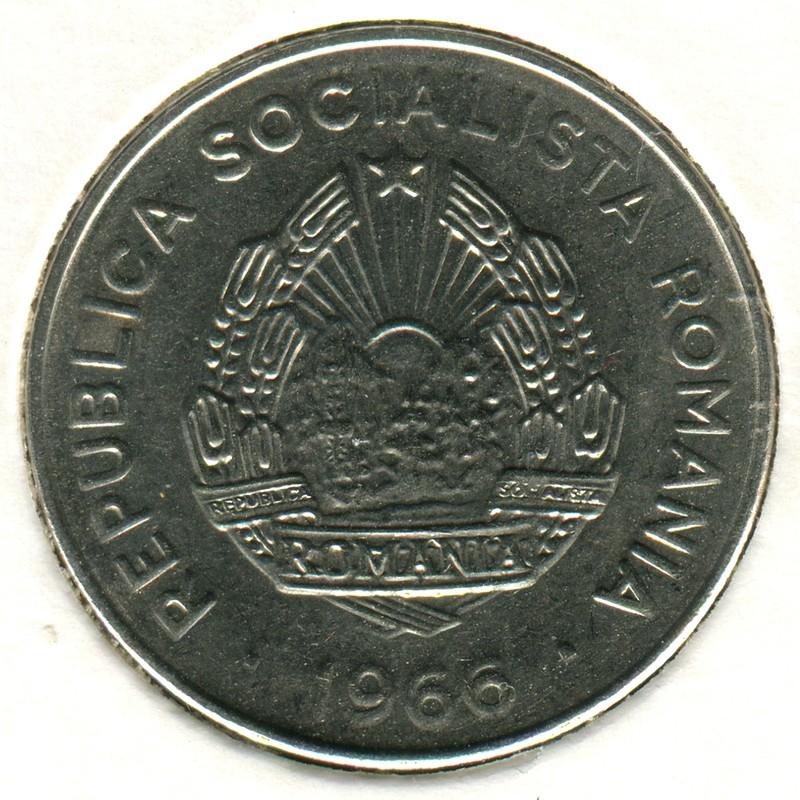 Румыния 25 бани 1966 #94 - 1