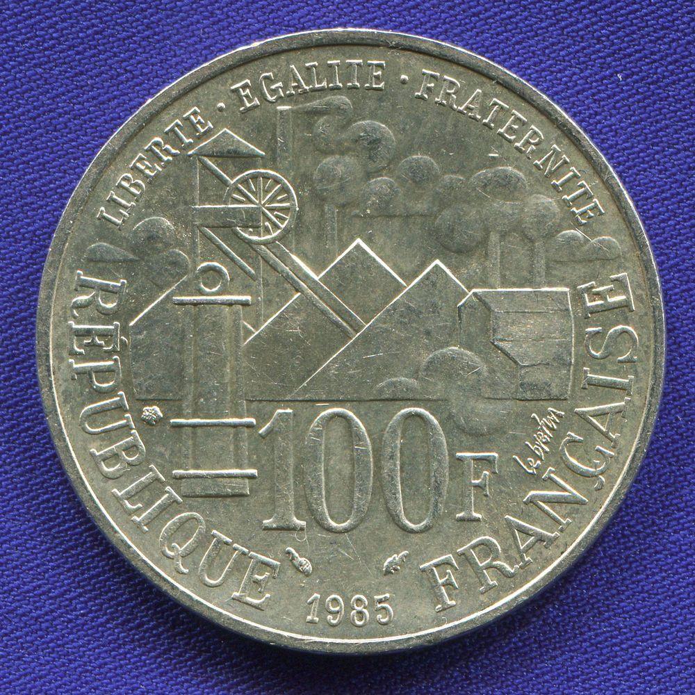 Франция 100 франков 1985 UNC  - 1