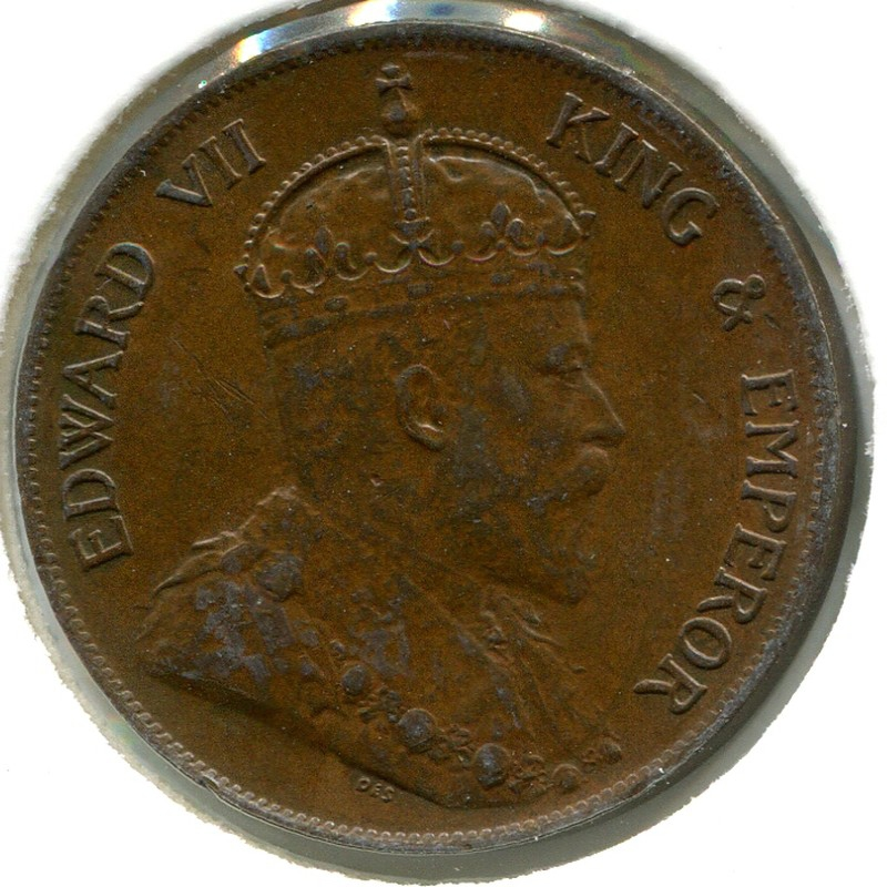 Гонконг 1 цент 1905 #11 XF - 1