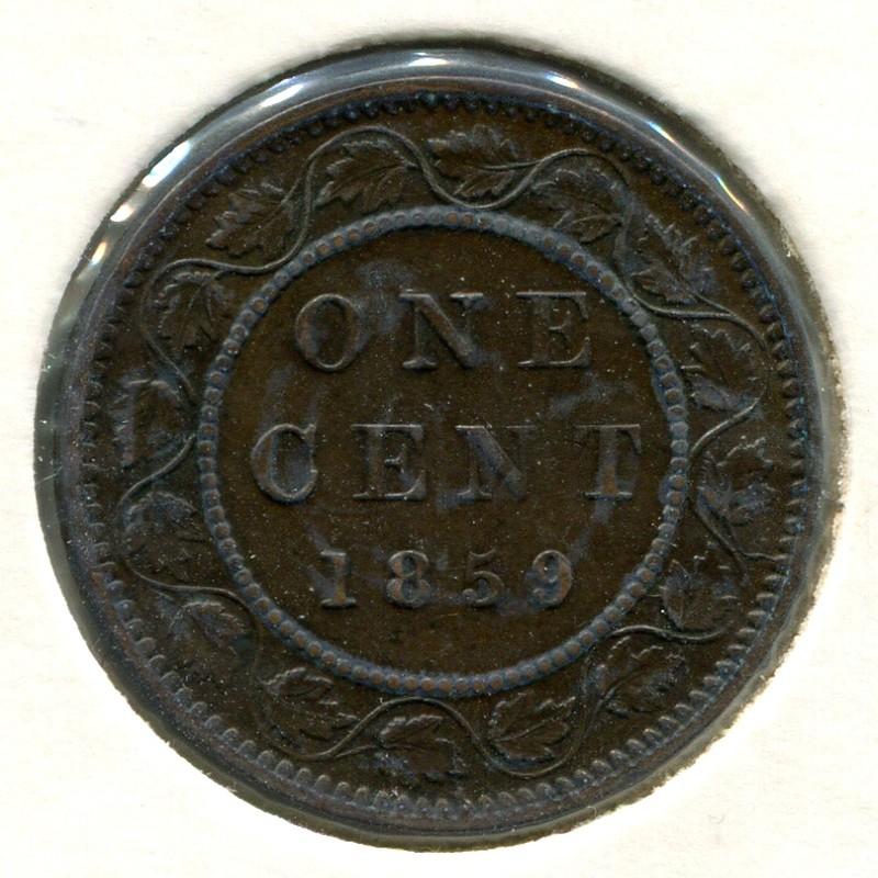 Канада 1 цент 1859 #1 XF - 1