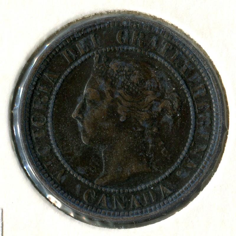 Канада 1 цент 1900 #7 VF - 1