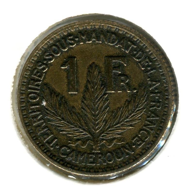 Камерун 1 франк 1925 #2 VF - 1