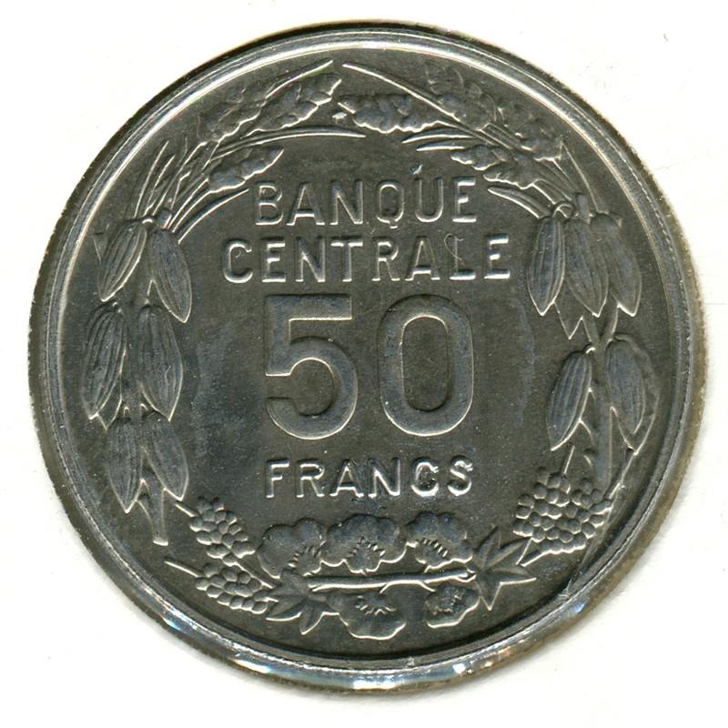 Камерун 50 франков 1960 #10 BU - 1
