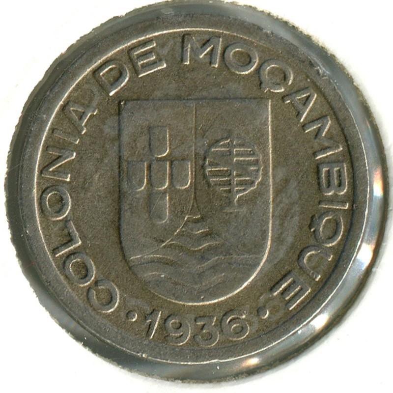 Мозамбик 50 сентаво 1936 #65 - 1
