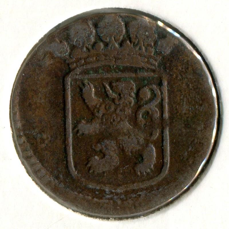 Нидерландская Индия 1 дойт 1734 #70 - 1