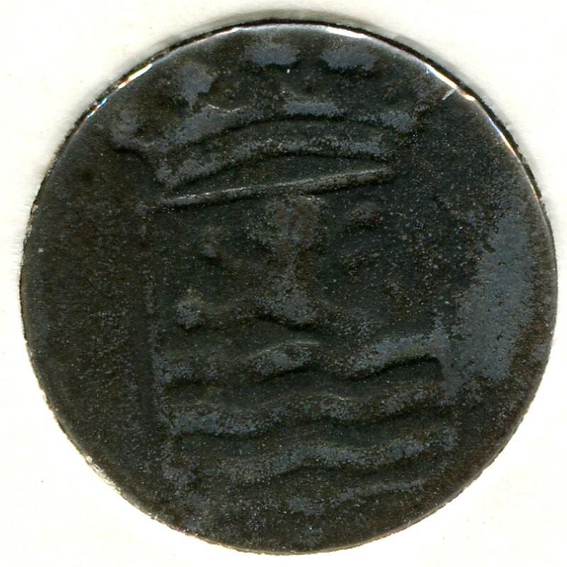 Нидерландская Индия 1 дойт 1780 #152.3 - 1
