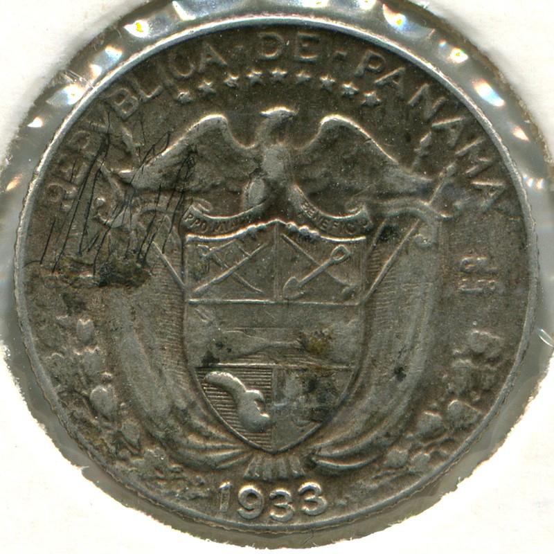 Панама 1/10 бальбоа 1933 #10.1 VF - 1
