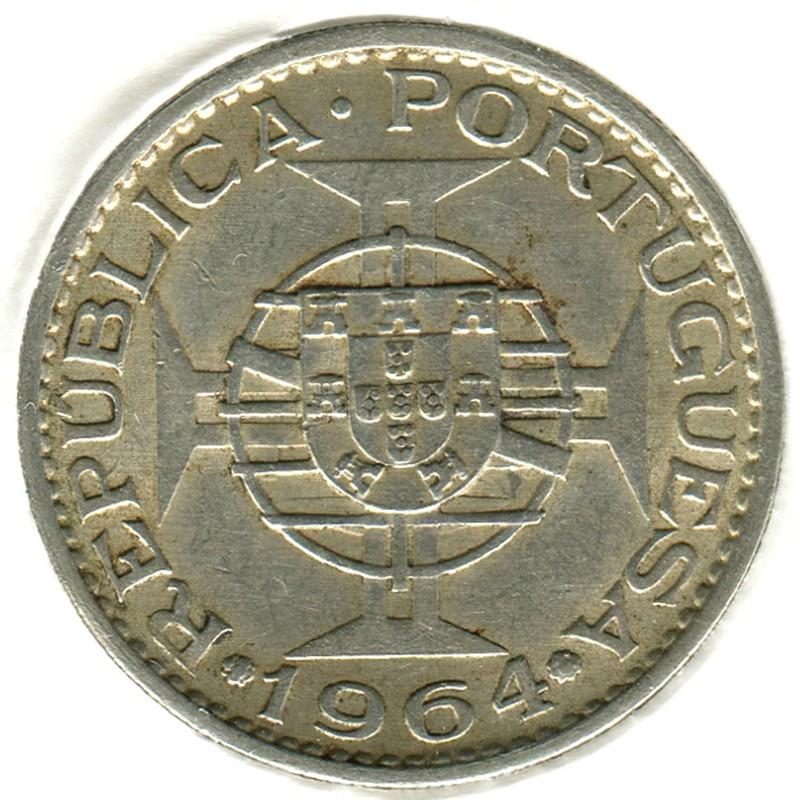 Тимор 10 эскудо 1964 #16 XF - 1