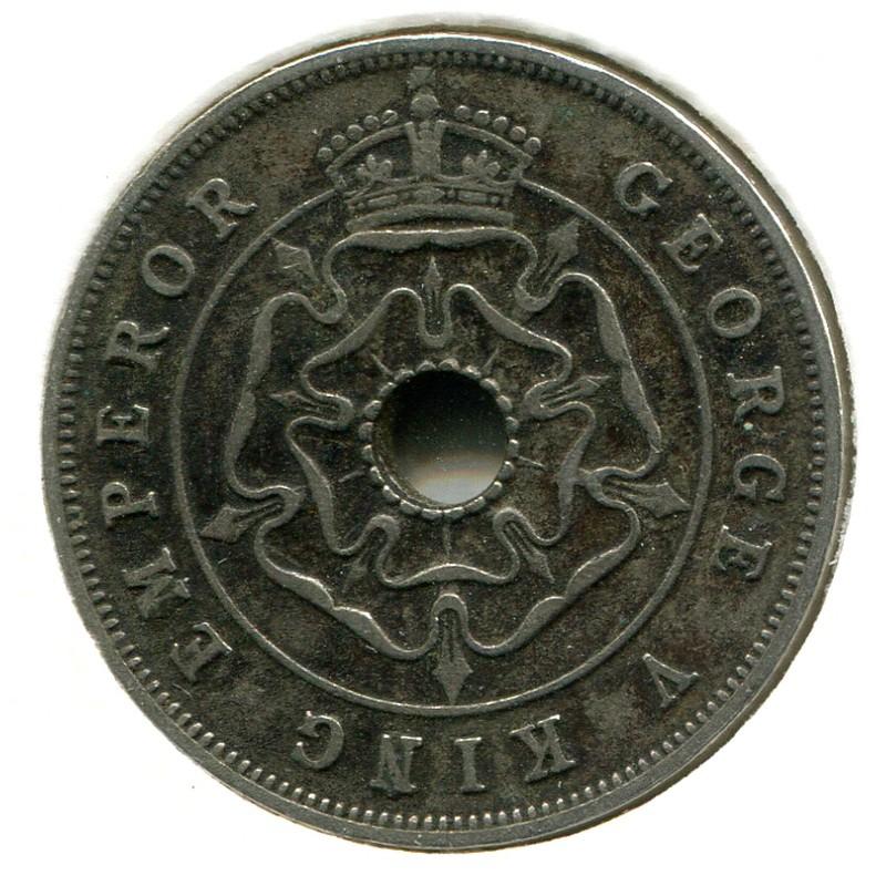 Южная Родезия 1 пенни 1935 #7 - 1
