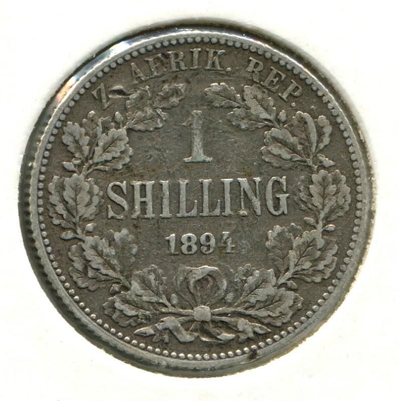 Южная Африка шиллинг 1894 #5 GF - 1