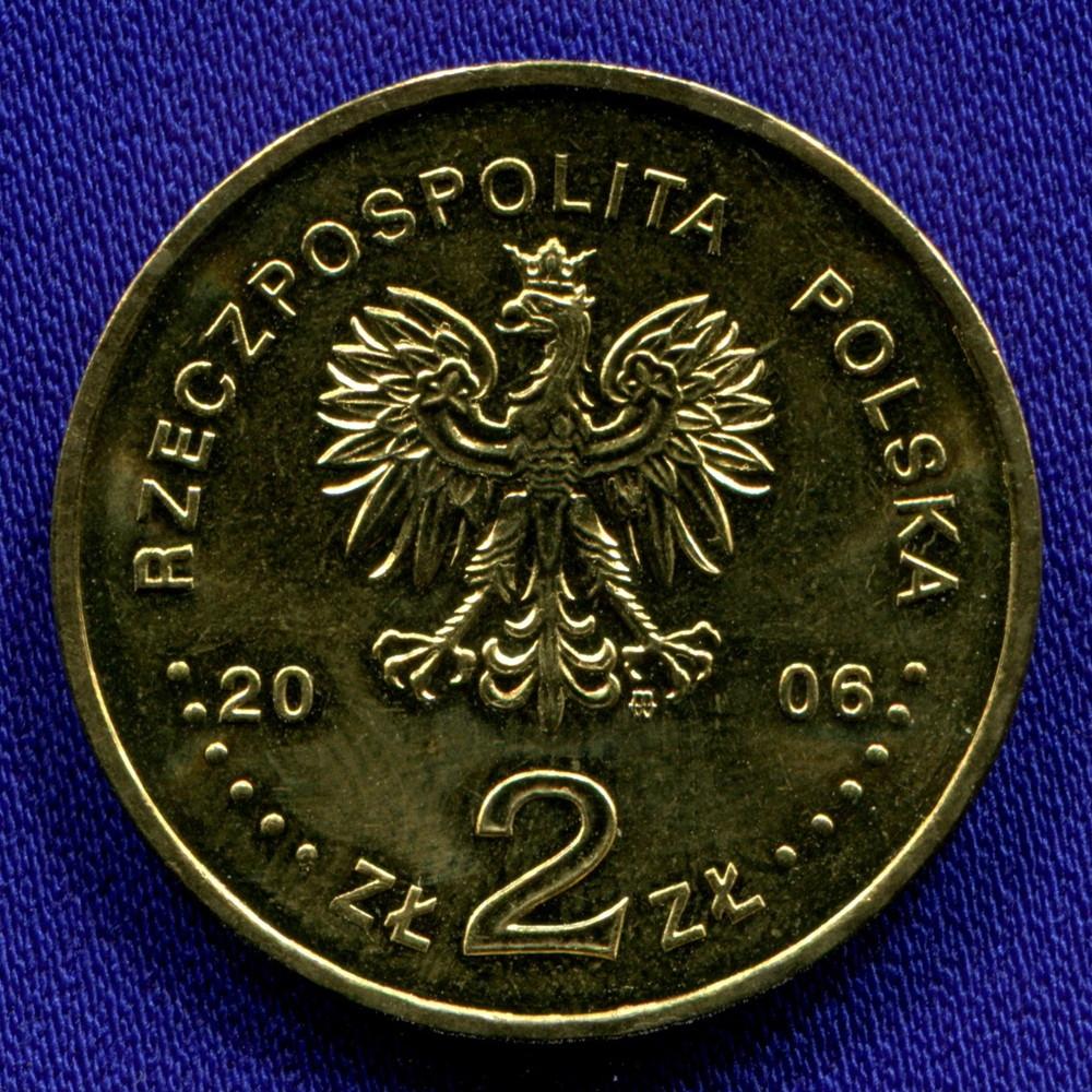 Польша 2 злотых 2006 UNC 30-летие Июня 1976 - 1