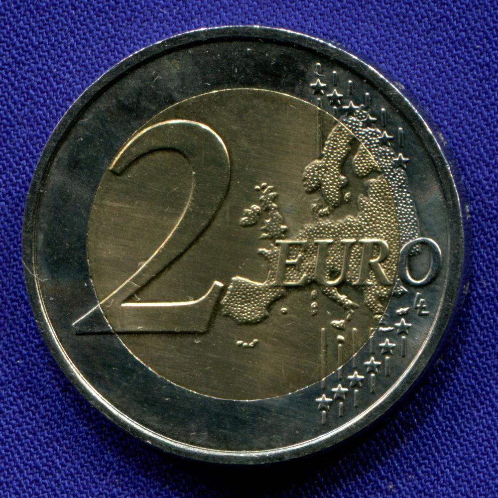 Франция 2 евро 2015 aUNC Вторая Мировая война  - 1