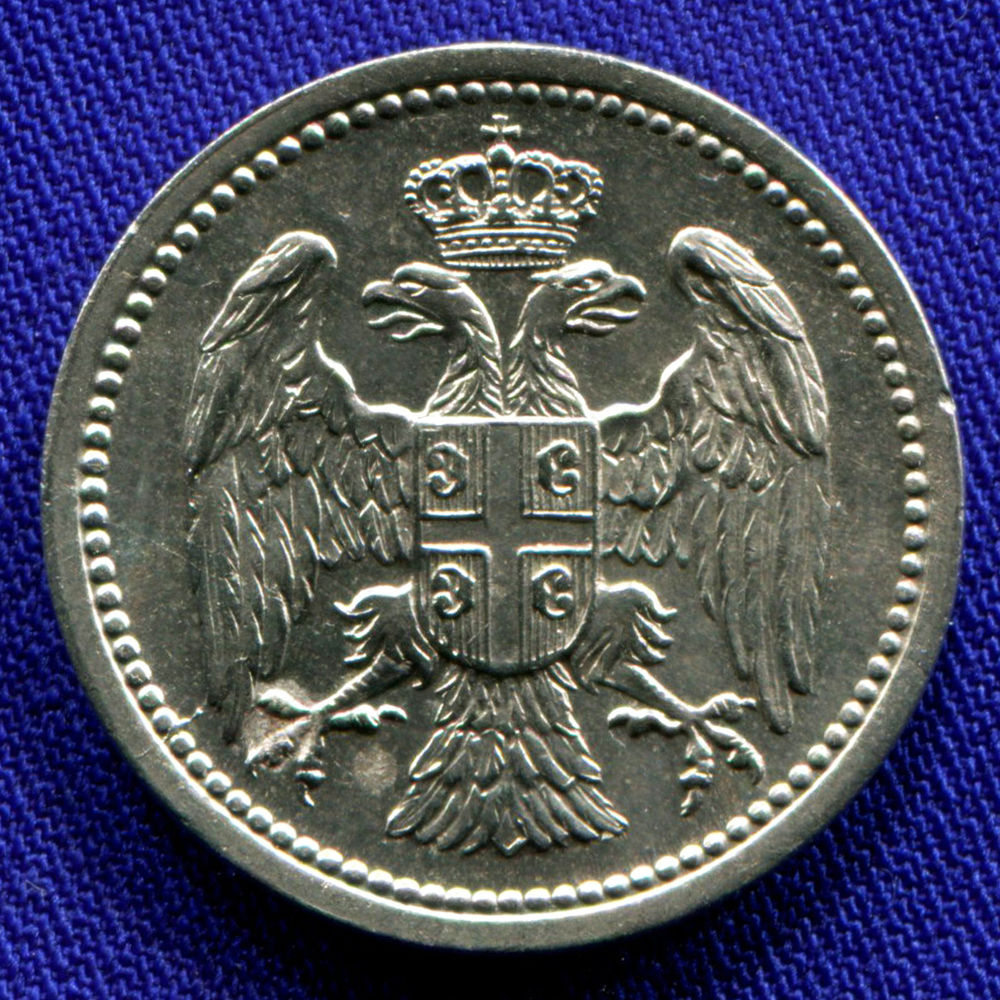 Сербия 10 пара 1883 aUNC  - 1