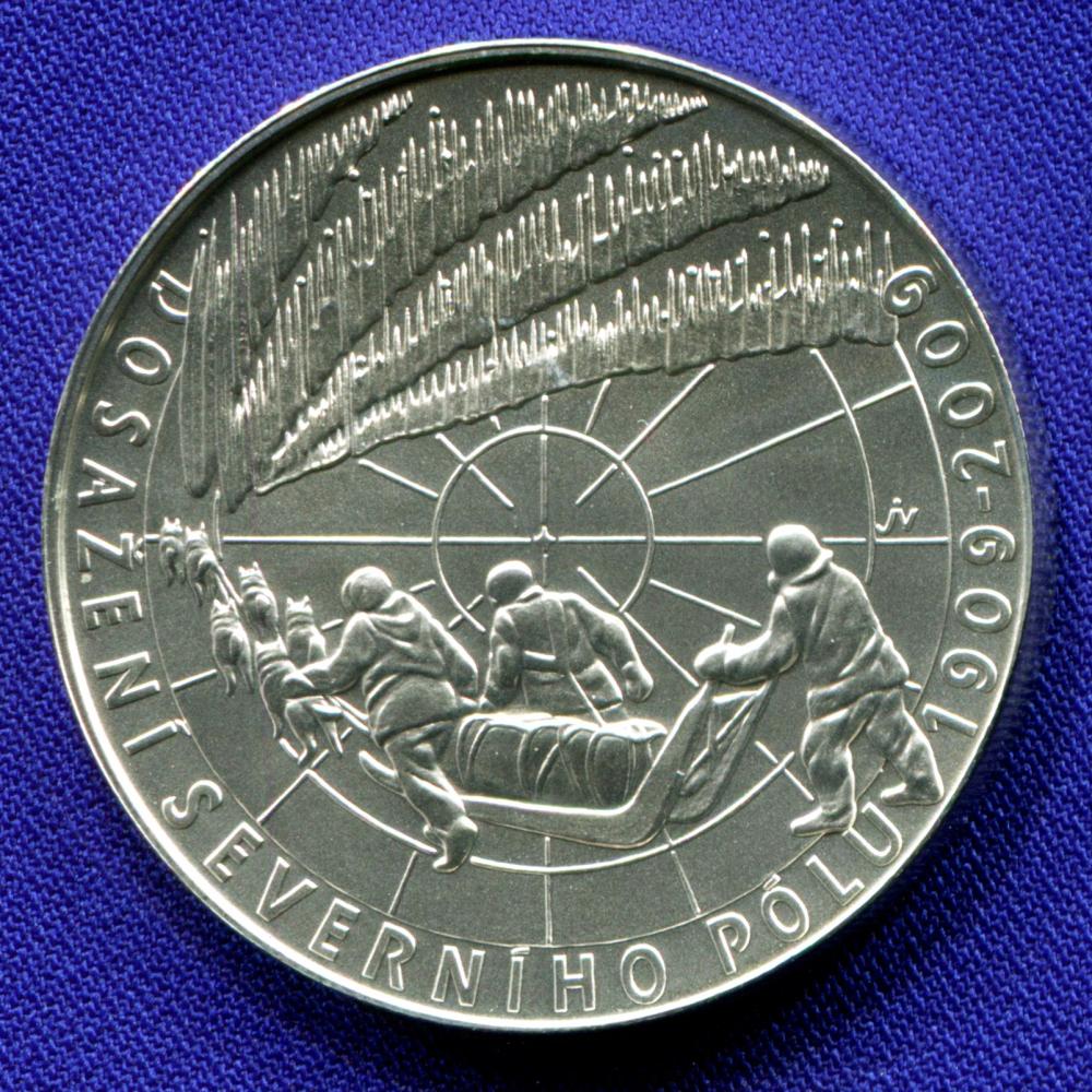 Чехия 200 крон 2009 UNC Полярная экспедиция  - 1