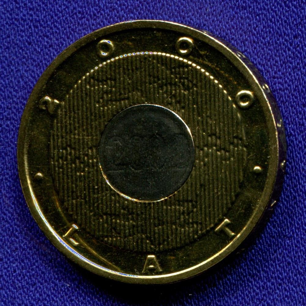 Польша 2 злотых 2000 UNC Миллениум - 1
