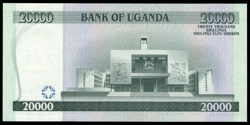 Уганда 2000 шиллингов 2002 - 1