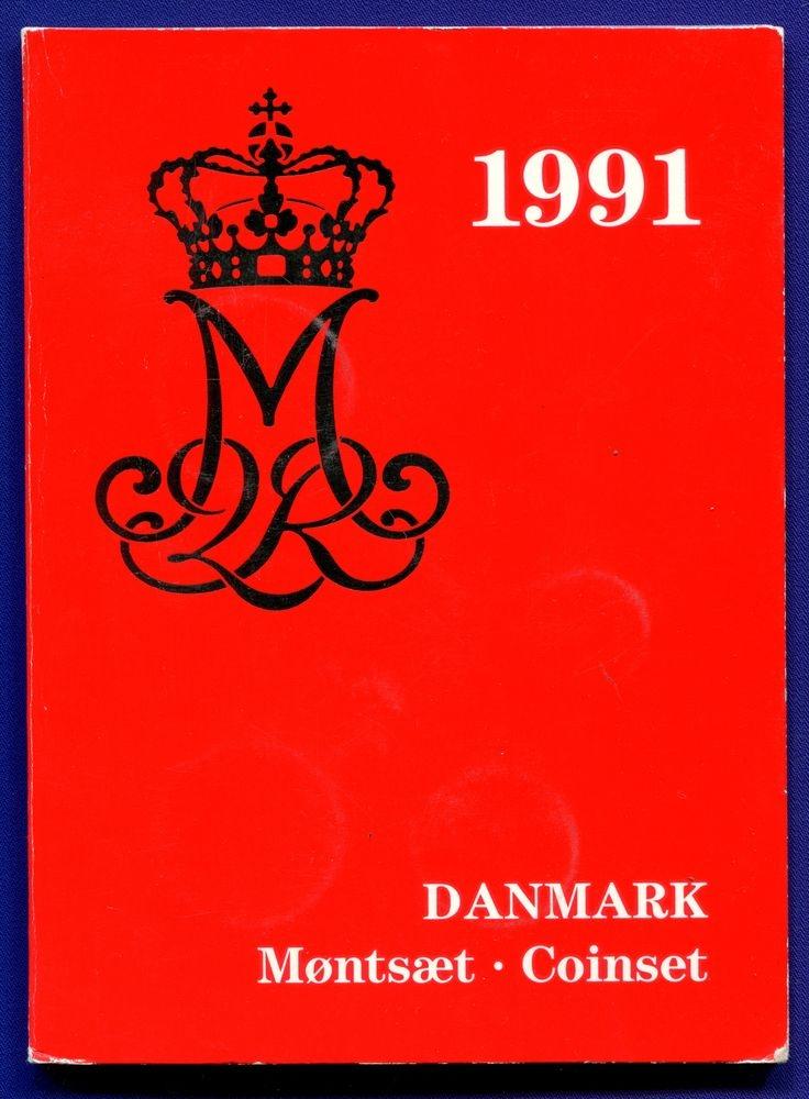 Дания набор - 5 монет 1991 UNC - 2