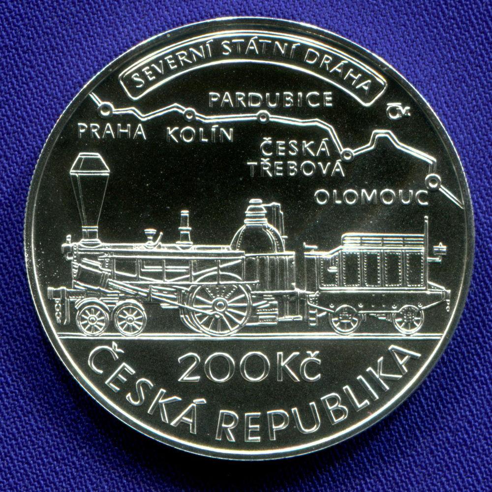 Чехия 200 крон 2015 UNC 200 лет со дня рождения Яна Пернера  - 1