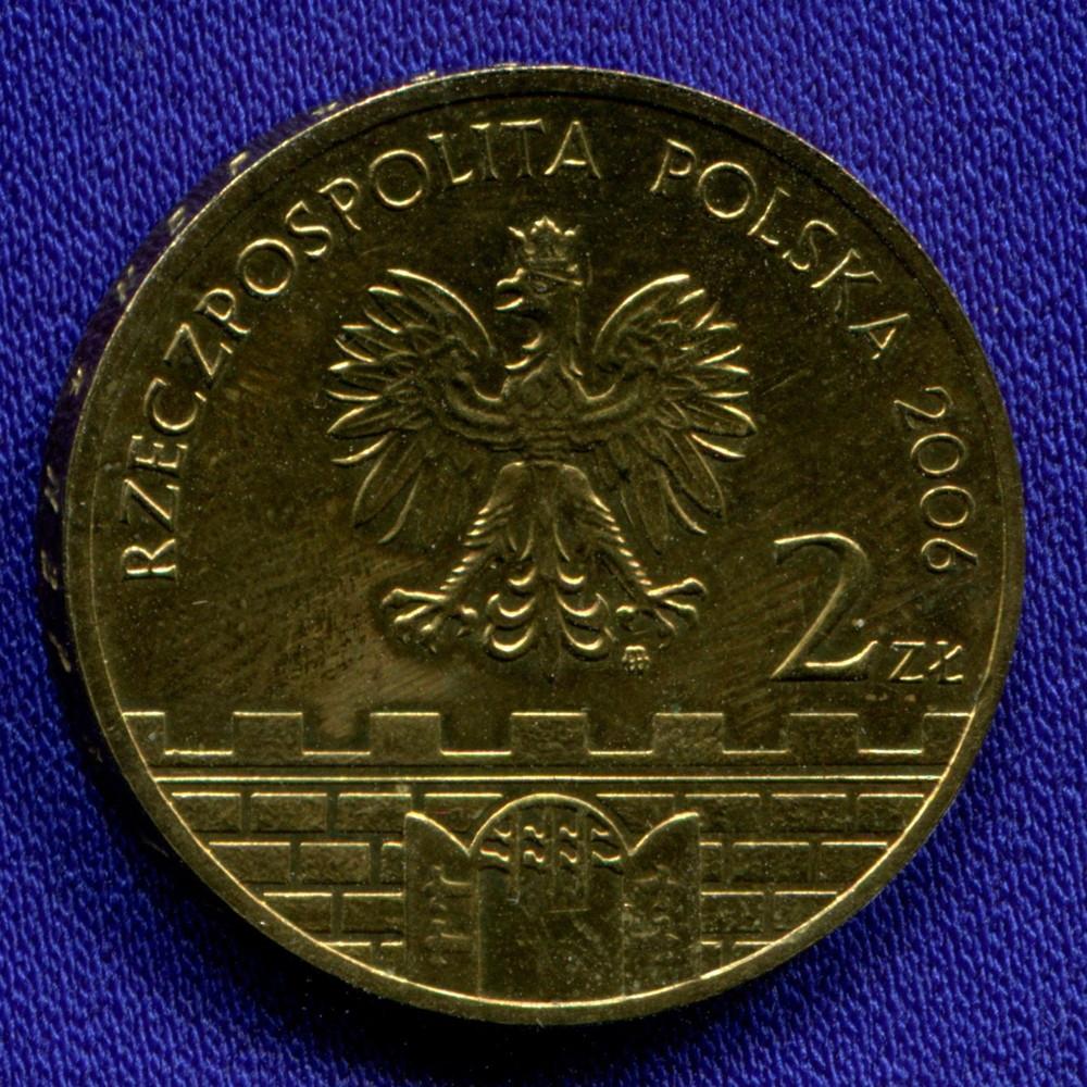 Польша 2 злотых 2006 UNC Бохня - 1