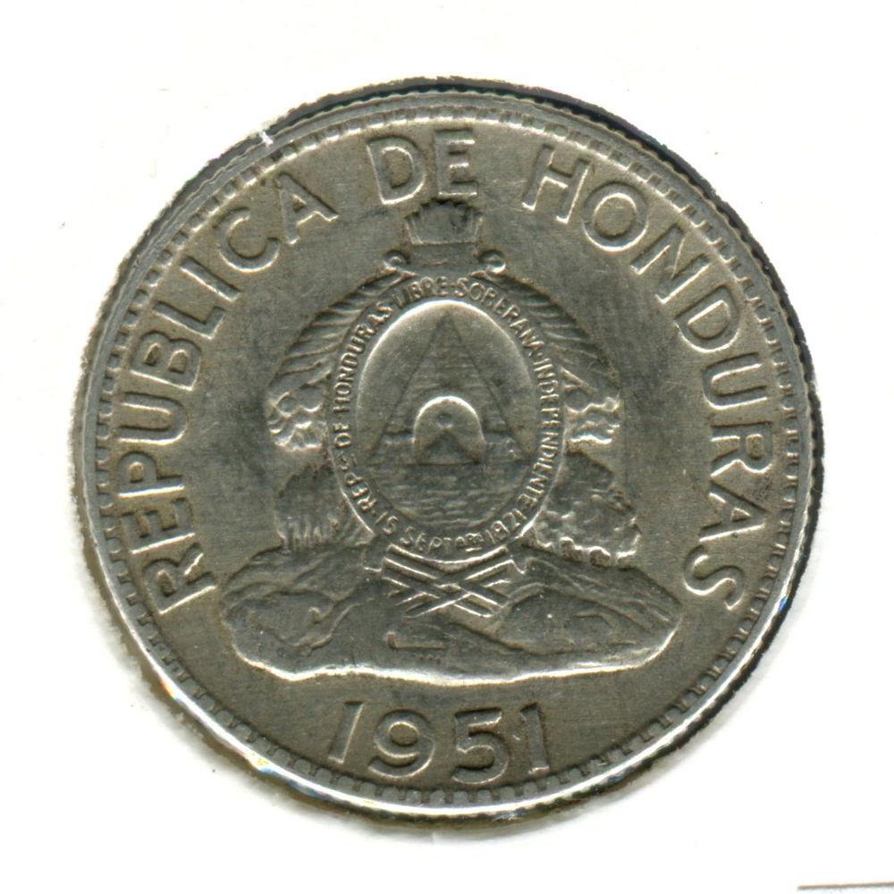 Гондурас 50 сентаво 1951 GVF #74 - 1
