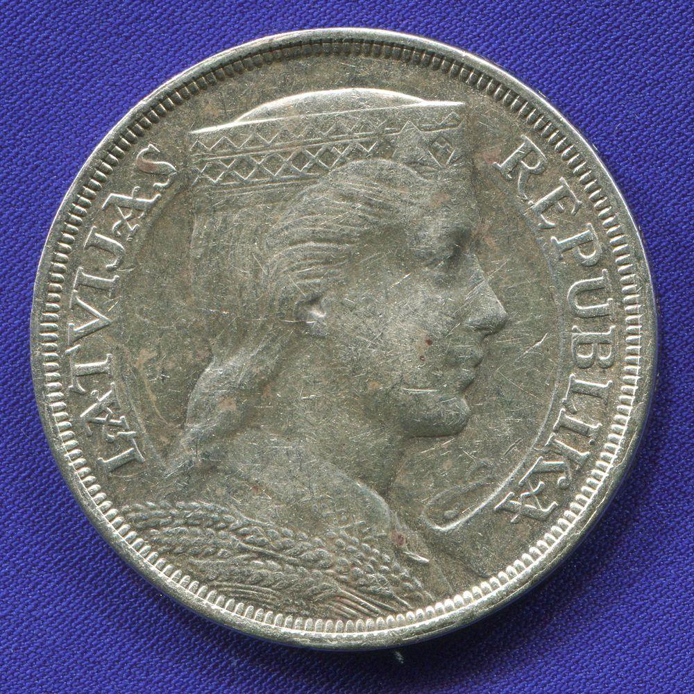 Латвия 5 латов 1929  - 1