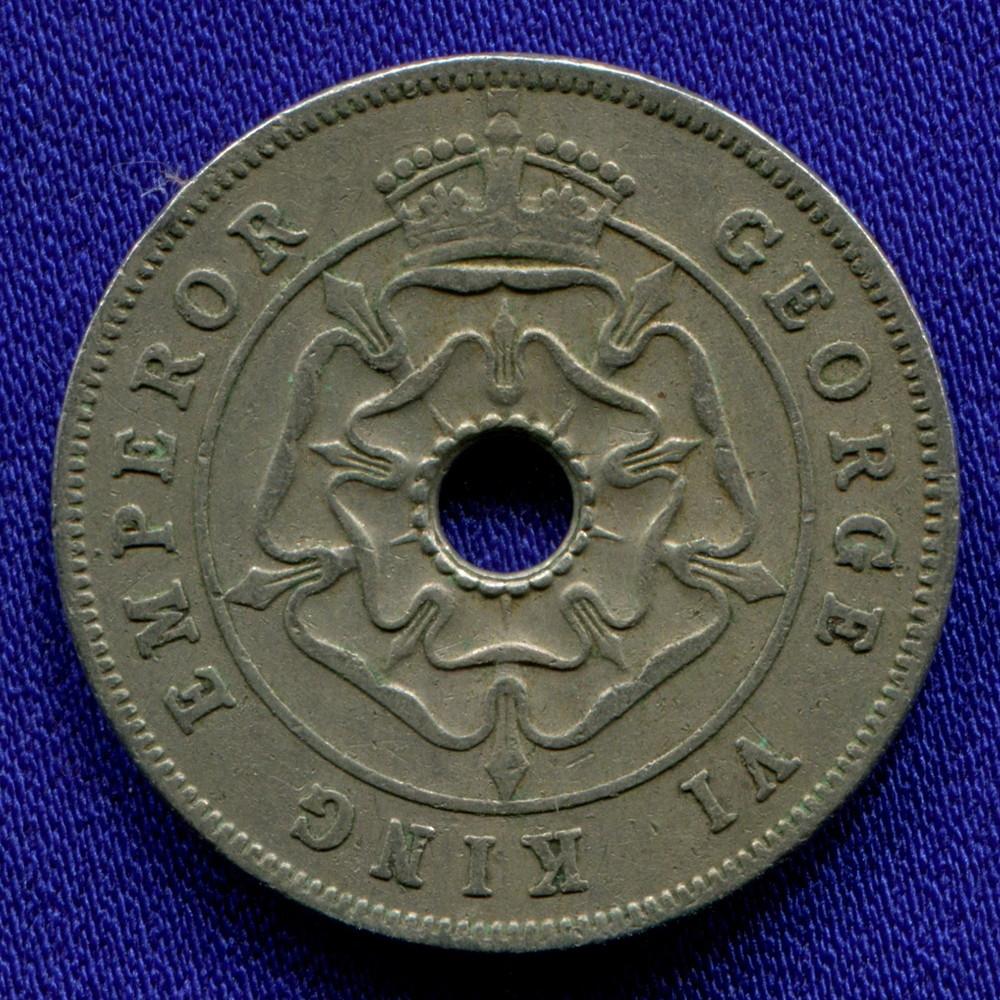 Южная Родезия 1 пенни 1938 VF - 1