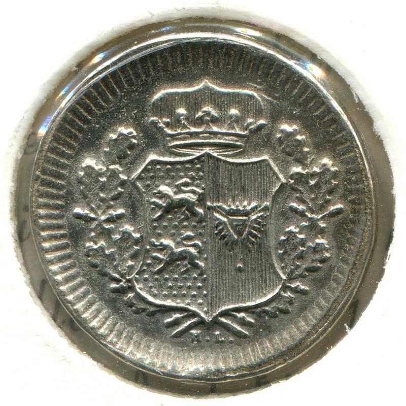 Дания-Шлезвинг Гольштейн 1 шиллинг 1851 #162 - 1