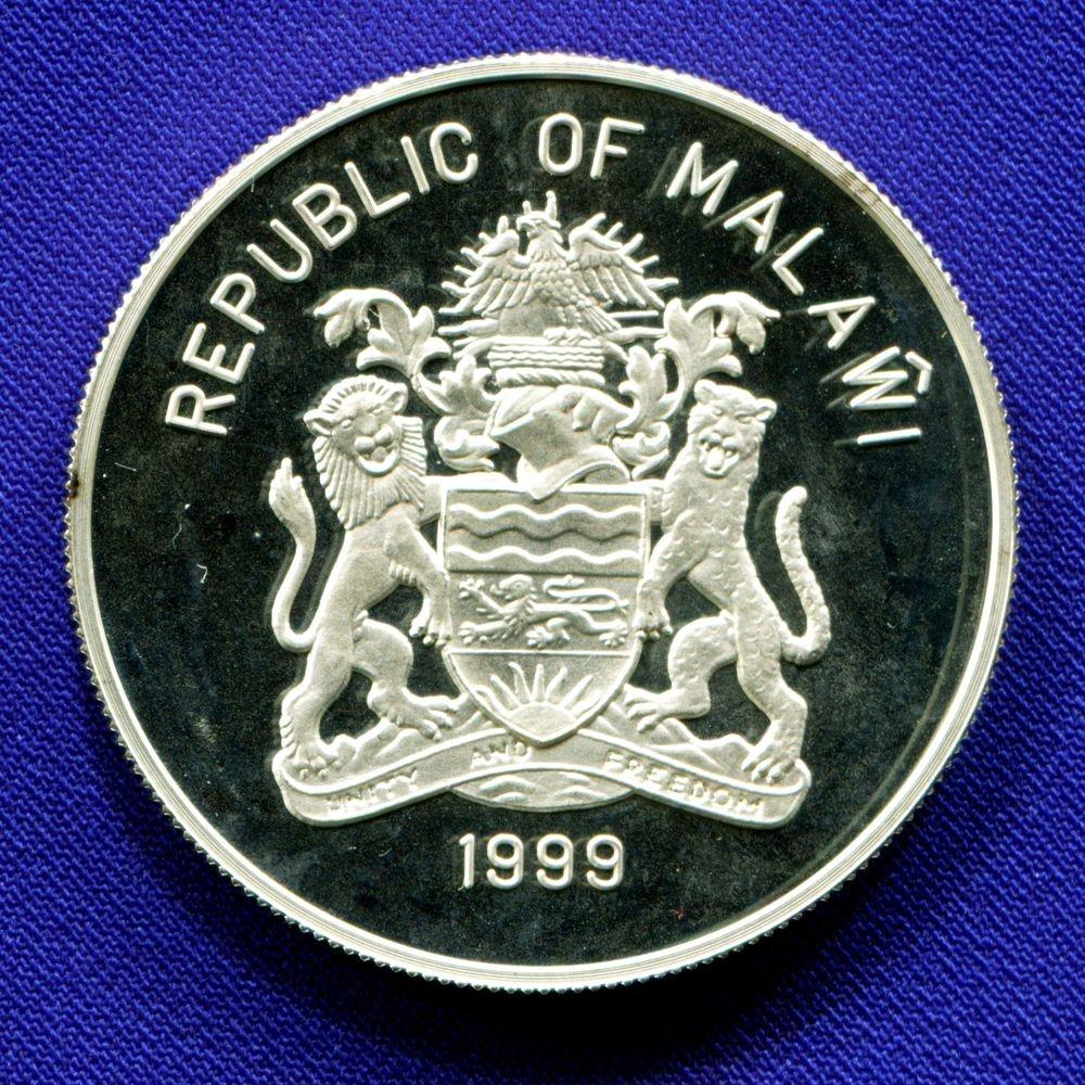Малави 10 квача 1999 Proof Олимпийские игры - 2000 - 1