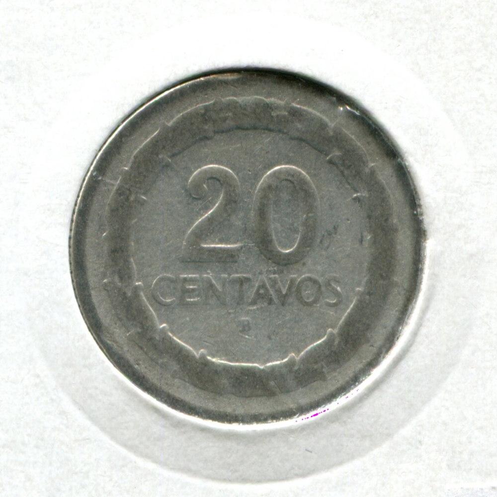 Колумбия 20 сентаво 1947 F  - 1