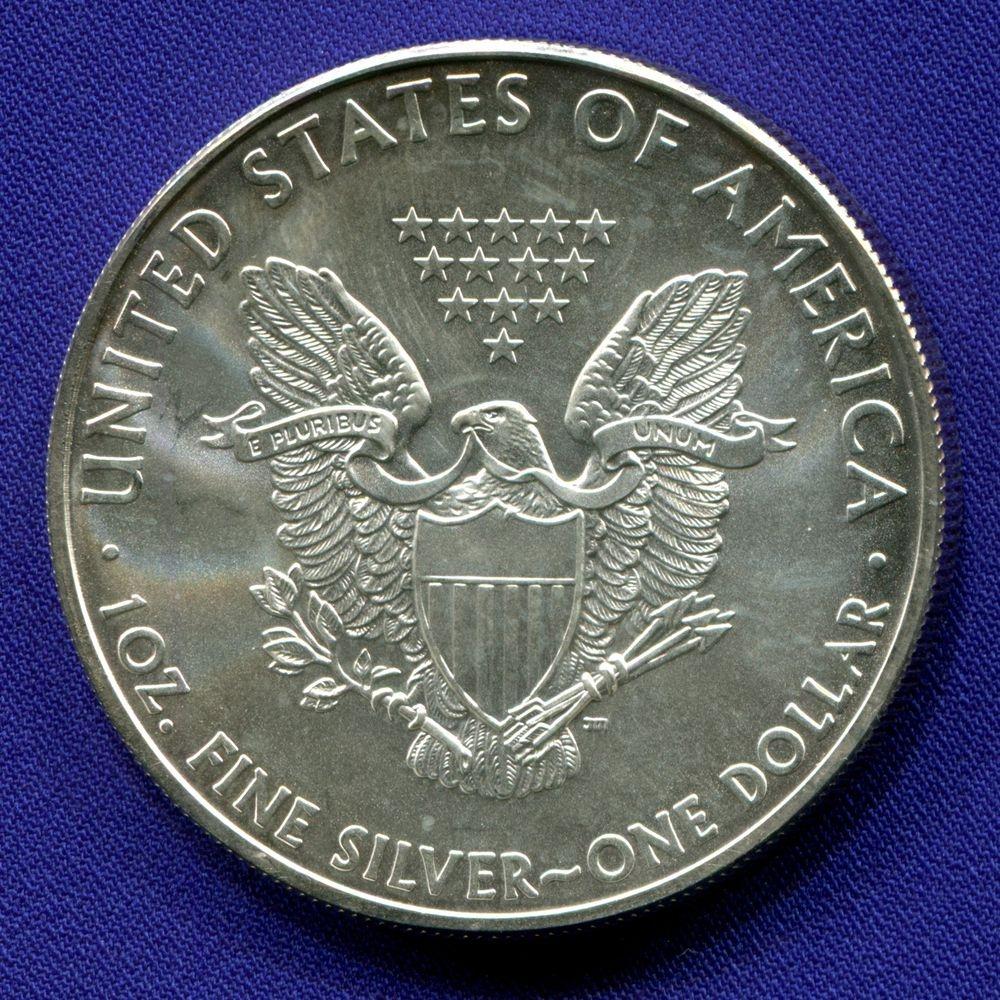 США 1 доллар 2009 UNC  - 1