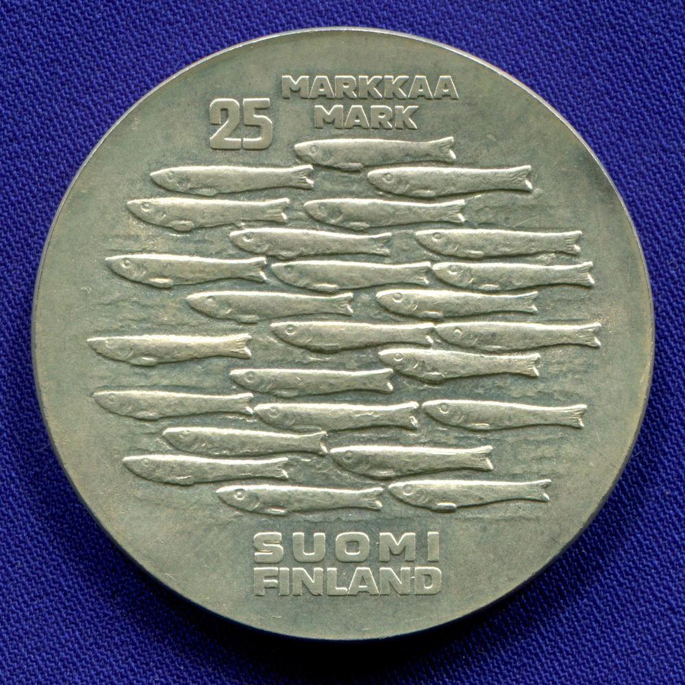 Финляндия 25 марок 1979 UNC 750 лет Турку  - 1