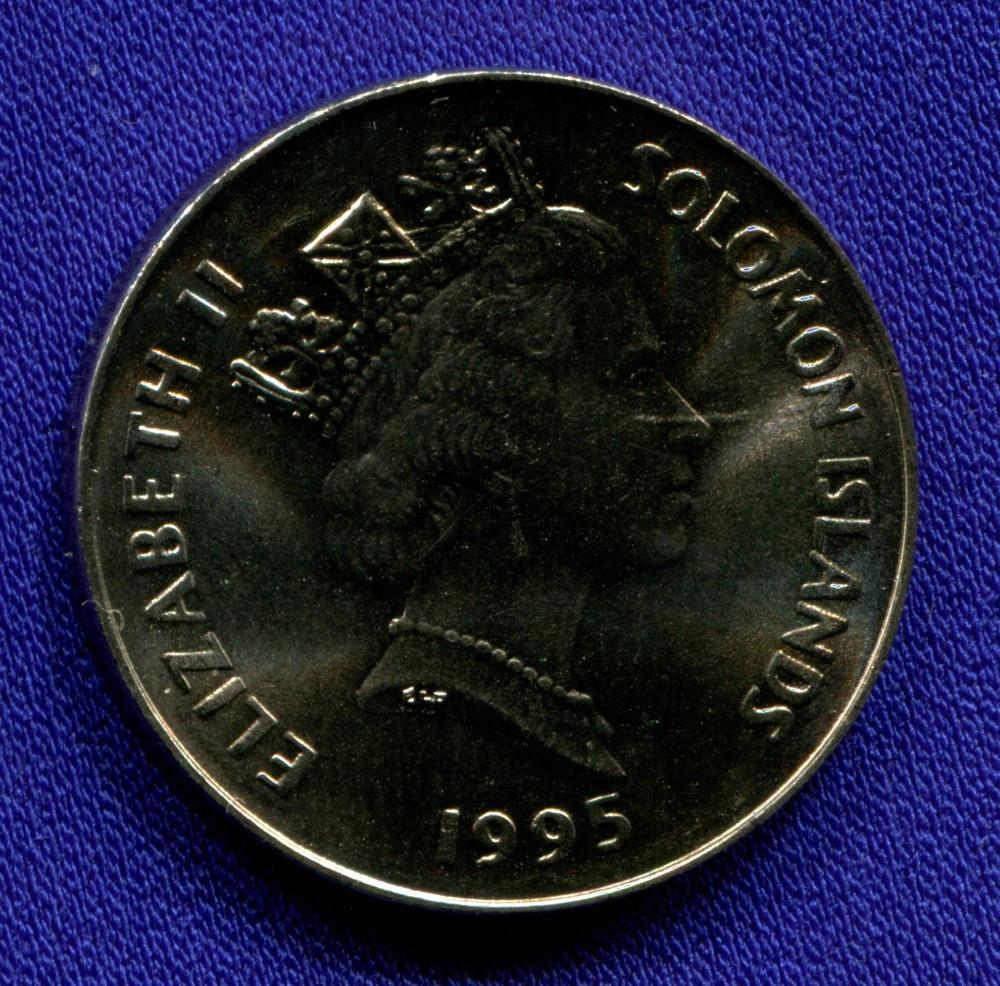 Соломоновы острова 20 центов 1995 UNC - 1