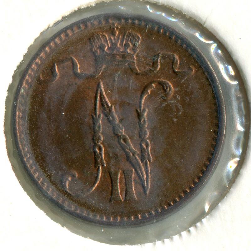 Финляндия 1 пенни 1911 #13 - 1