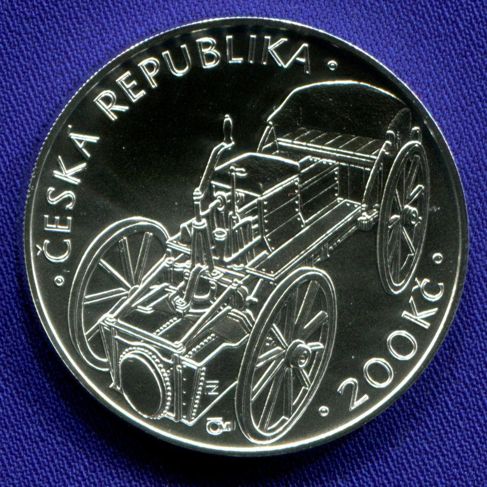 Чехия 200 крон 2015 UNC 200 лет паровой машине Йозефа Божека  - 1