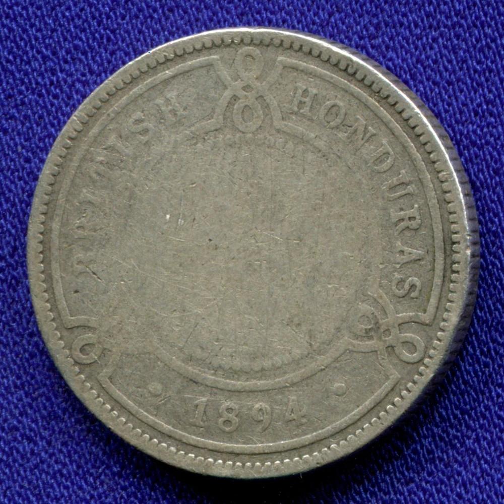 Британский Гондурас 25 центов 1894 F - 1