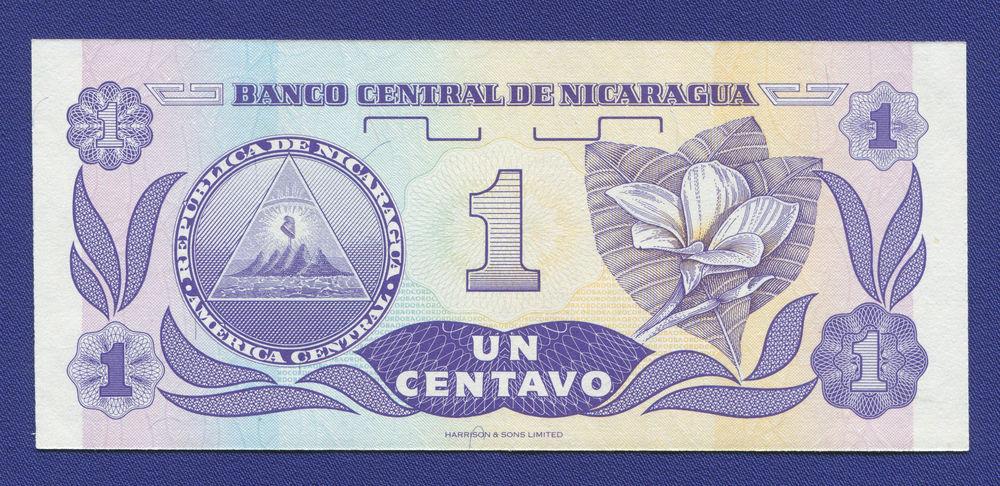 Никарагуа 1 сентаво 1991 UNC - 1
