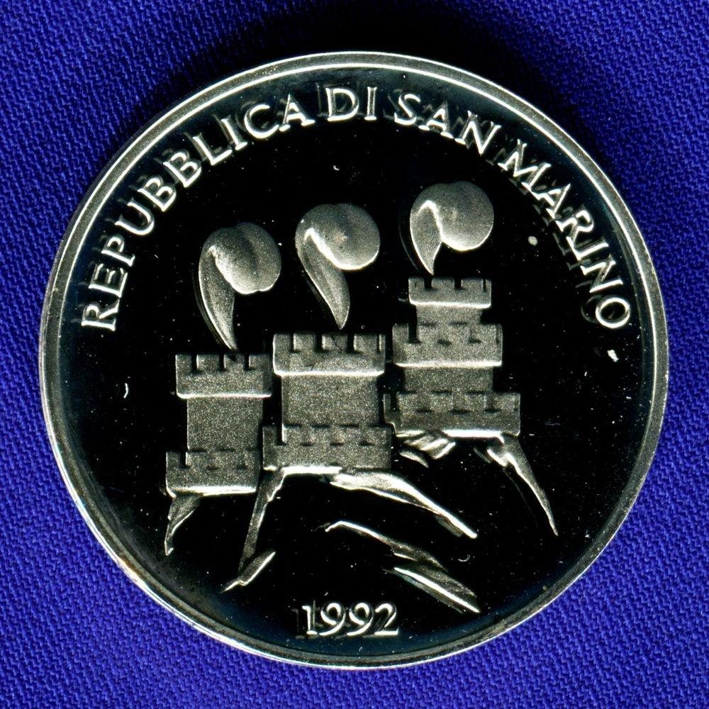 Сан-Марино 1000 лир 1992 Proof Олимпиада - 1