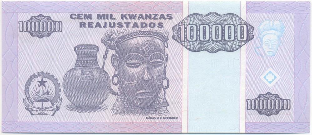 Ангола 100000 кванз 1995 - 1