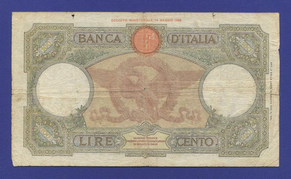 Италия 100 лир 1940 VF - 1