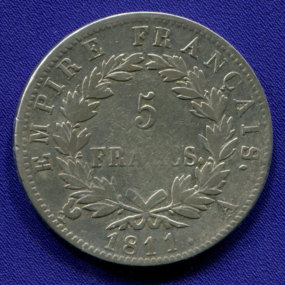Франция 5 франков 1811 VF  - 1
