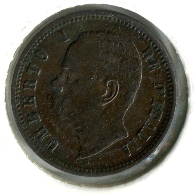 Италия 2 чентезимо 1900 #30 GVF - 1
